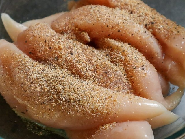 raw chicken tenders