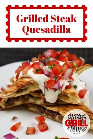 image of some steak quesadillas