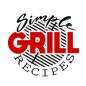 Simple Grill Recipes logo written on a grill grate