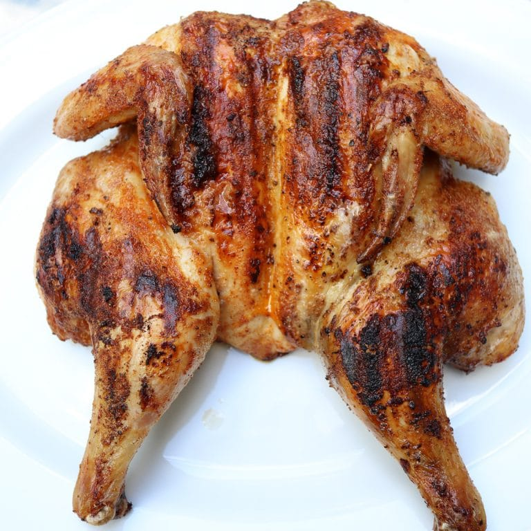 Grilled Spatchcock Chicken